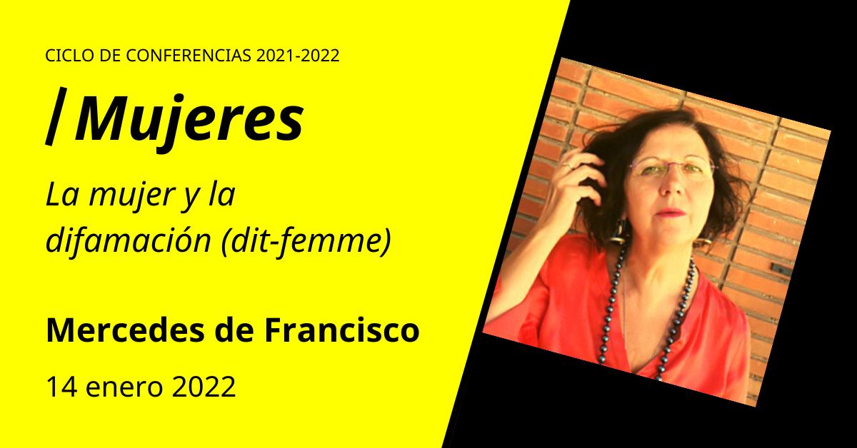 Mercedes de Francisco Conferencias en torno al psicoanálisis de orientación lacaniana
